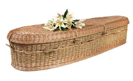 wicker-coffin